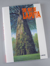 "Hayao Miyazaki The Art of Laputa ""LAPUTA Castle In The Sky"" Ghibli new mint!"