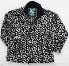 PUMA Wild Pack AOP Polar Fleece Jacket Pullover Sweater Cheetah Print Sweatshirt