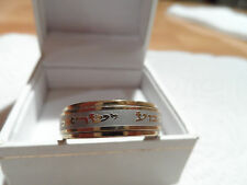 SHEMA ISRAEL WEDDING RING Stainless steel Gold Color Shma Yisrael JEWISH