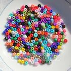 1000Pcs 2mm Czech Glass Seed Spacer beads Jewelry Making DIY Pick 20 Colors