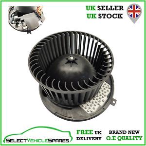 NEW SEAT LEON MK2 / ALTEA HEATER BLOWER FAN AIR CON MOTOR RHD (DIGITAL AC)