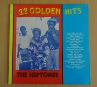 THE HEPTONES - 22 Golden Hits - Vinyl LP Album JAMAICA Trench Town Promo REGGAE