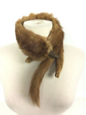 Genuine Real Animal Fox Fur Collar Feet Tail Head Vintage 30s 40s Costume Stage