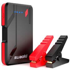 40Wh Suaoki P4 Jump Starter 500A Car Akku Portable Power Bank Booster neun