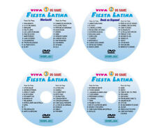 VIVA FIESTA LATINA DVD Karaoke 16 Disc Set Spanish Song