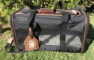Original Sherpa Bag Pet Carrier Black Travel Airline Dog Cat Animal