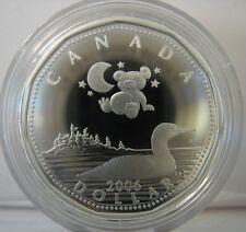 RCM - 2006 - $1 - Baby Lullabies CD Set - 92.5% Silver Loonie - Original Sealed
