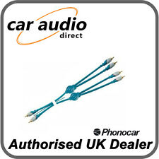 Phonocar 4/278 Double Shielded Split Y-Lead Adaptor Signal Conductors 5m