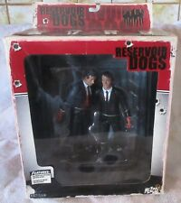 Reservoir Dogs, Mr. White and Mr. Orange Mezco action figures 2001