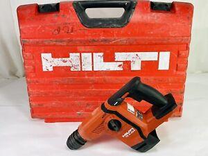 "Hilti TE 6-A22 21.6v 3/8"" Cordless Rotary Hamer Drill Guaranteed to work Perfect"