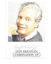 Coronation Street H Uncertified Original Autographs