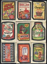 1973 Topps Wacky Packages Series 4, 30 cards