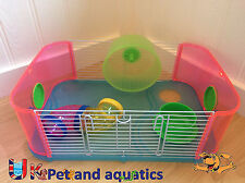 Lazy Bones Hamster Cage, Add On Kit, Extension Blue