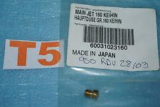 Gicleur principal Keihin 160 KTM 60031023160 950 ADVENTURE SUPERMOTO SuperENDURO