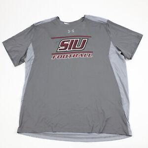 Southern Illinois Salukis Under Armour HeatGear Short Sleeve Shirt Men's Used