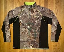 RealTree. Performance Camo Mens Longsleeve Scent-Factor Hunting Shirt. Large.