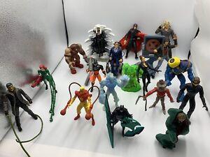 Vintage Marvel Toy Biz X-MEN And Batman 18 Figures Lot