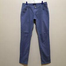 C571 - Massimo Dutti Purplish-Blue Denim Jeans