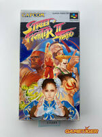 STREET FIGHTER 2 TURBO Nintendo Super Famicom SFC JAPAN Ref:315380