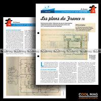 #clf065.007 ★ LES PLANS DU PAQUEBOT PAQUEBOT FRANCE -4- CGT ★ Fiche Marine