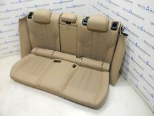 BMW F86 x6m Hintersitze Sportsitze Sitze Rear Seats Leder MERINO SONOMA BEIGE