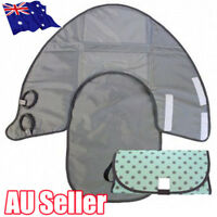 Waterproof Portable Clean Hands Baby Diaper Changing 3-in-1 Diaper Clutch Pad QV