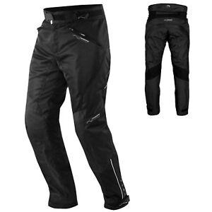 CE Armour Mesh Summer Tex Trouser Motorbike Motorcycle Pants Sonicmoto Black 28
