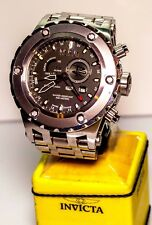 Invicta Reserve 6207 Men's GMT Alarm Watch Stainless Steel Bracelet