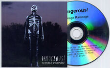 DANGEROUS! Teenage Rampage 2011 Dutch 12-track promo CD
