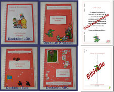 Geschenk Schulanfang Einschulung 1. Schultag # Gästebuch + Festzeitung # rot