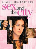 Sex and the City: The Sixth Season - Part 2 (DVD, 2004, 3-Disc Set)