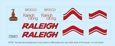 Raleigh Sirocco Bicycle Decals-Transfers-Stickers #5