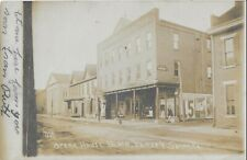 Real Photo Postcard - Jersey Shore, Pennsylvania - Opera House Block -Cash Store