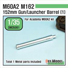 DEF. modello, m60a2 152mm PISTOLA LANCIATORE DI CANNA di Metallo Set (1), dm35061, 1:35