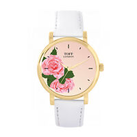 Toff London TLWS-16434 Pink Rose Watch