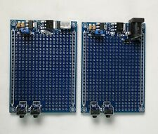 10Pcs Black Gold Tone Soldering PCB Board Breadboard Test Point Pin UK Seller