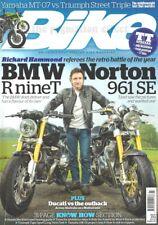 Diavel BMW R nineT Norton 961 SE Paton SR400 MT-07 Street Triple Triumph T595 V7