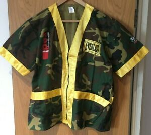 Paul Ingle related Everlast Camouflage Jacket with Red Square branding etc