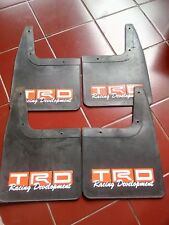 TRD Mud flaps Mud guard Splash Guard TOYOTA rear & front mudflap mudguard FULL