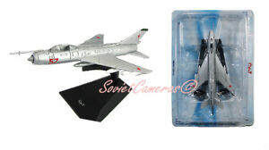 1/120 Sukhoi Su-7 Fitter-A Russian Soviet Fighter-Bomber Deagostini IXO New