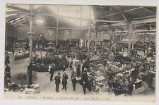 Jersey postcard - St Helier - New Market - LL 75 - P/U 1910 (A77)