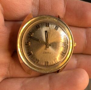 VTG Timex Electric Watch  Not Running