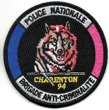 France bac Charenton police écusson patch FRANCE POLICE