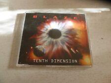 BLAZE - Tenth Dimension - Scarce 2002 German 12-track advance promotional CD LP
