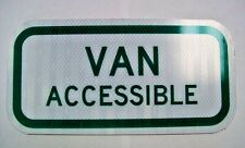 HANDICAP VAN ACCESSIBLE SEALCOATING PARKING for Parking areas