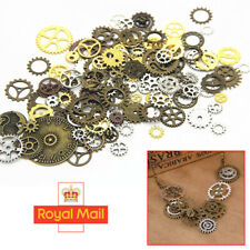 100g Watch Parts Steampunk Jewellery Art Craft Cyberpunk Cogs Gears Charms DIY C