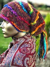 QUIRKY NEW DREAD FALL RAINBOW 'MARLEY' BEANIE / MITTENS / HIPPIE HAT / SCARF