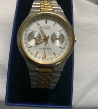 Citizen Women's Wristwatch Gold And Silver Tone Stainless Steel