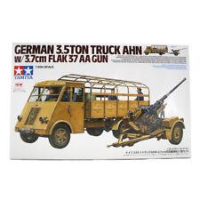 Tamiya German 3.5 Ton Truck AHN w/ 3.7cm Flak 37 AA Gun (Scale 1:35) 32410 NEW