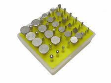 RDGTOOLS 50pz SET DI DIAMANTE FRESA set ( 0.3cm GAMBO ) VARIE FORME